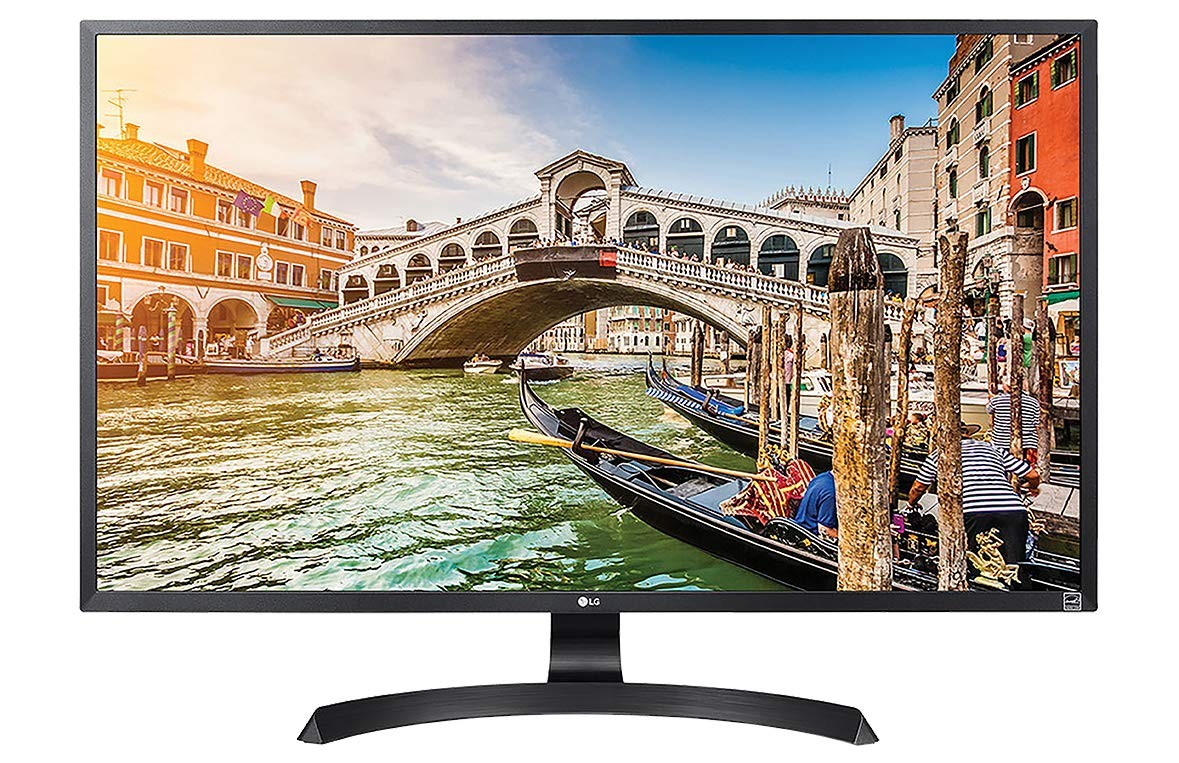 LG 32UD59-B.ATR 32-inch Colour Calibrated Monitor (Black)
