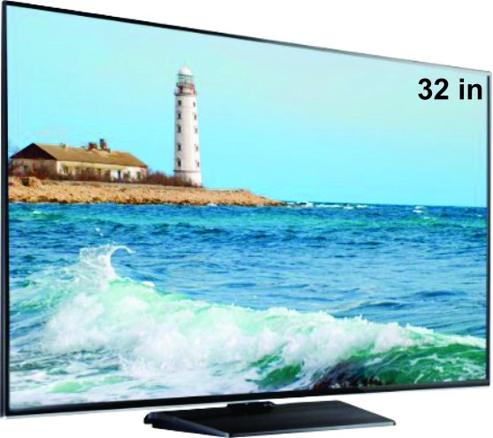 "32"" Toshiba LED + Free Ghar ghanti + Special Surprise Gift"
