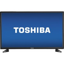 "TOSHIBA - 32"" Curved LED TV"