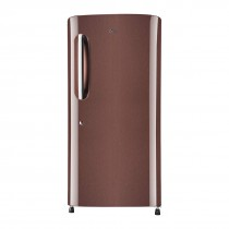 LG 215 L 4 Star Inverter Direct Cool Single Door Refrigerator (GL-B221AASY, Amber Steel)