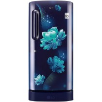 LG 215 L 4 Star Inverter Direct-Cool Single Door Refrigerator (GL-D221ABCY, Blue Charm)