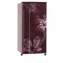 LG 188 L 3 Star Inverter Direct-Cool Single Door Refrigerator (B191KSOW, Scarlet Orchid)