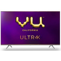 Vu 139 cm (55 inches) 4K Ultra HD Smart Android LED TV | With 5-Hotkeys 55UT (Black) (2020 Model)