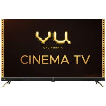 Vu 108 cm (43 inches) 4K Ultra HD Cinema Android Smart LED TV 43CA (Black) | With 40W Front Soundbar