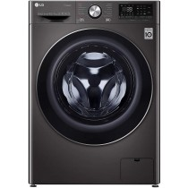 LG 10.5 Kg / 7.0 Kg Inverter Wi-Fi Washer Dryer (FHD1057STB, Black VCM, In-built Heater, Turbo Wash)