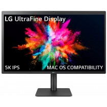 LG Ultrafine 27 Inch 5K (5120 x 2880) IPS Monitor - with Mac OS Compatibility - Thunderbolt 3 Port with 94W Power Delivery - 27MD5KL