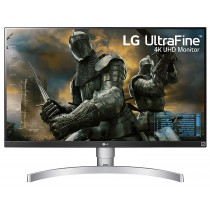 LG 27 inch 4K-UHD (3840 x 2160) HDR 10 Monitor (Gaming & Design) with IPS Panel, HDMI x 2, Display Port, AMD Freesync, Height Adjust & Pivot  -...