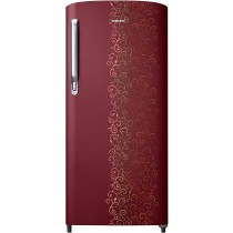 Samsung 192 L 2 Star Direct Cool Single Door Refrigerator (RR19M2712RJ/RR19M1712RJ, Royal Tendril Red)