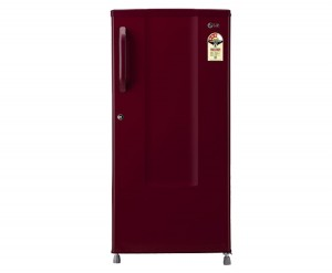 LG GL-B195CRLR Direct-cool Single-door Refrigerator (185 Ltrs, 3 Star Rating, Ruby Luster)
