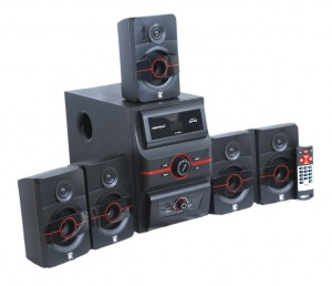 Universal Home Theatre with bluetooth