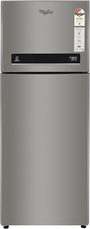 Whirlpool 265 L 3 Star Frost-Free Double Door Refrigerator (NEO DF278 PRM REAL STEEL(3S), Real Steel)