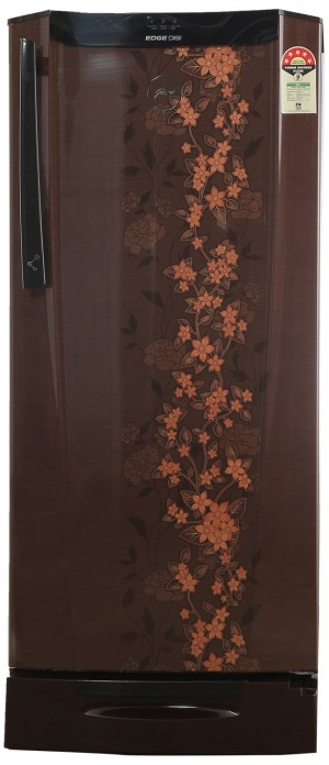 Godrej RH-EDGEDIGI 212PDS 6.2 Direct-cool Single-door Refrigerator (212 Ltrs, 5 Star Rating, Silver Spring)