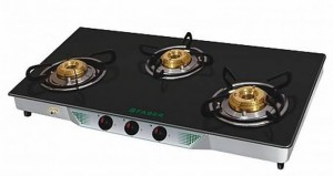 FABER GAS STOVE CRYSTAL 30 CT AI (BLACK)